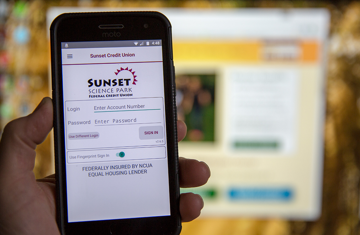 Apple & Android Smart Phone App - Sunset Science Park